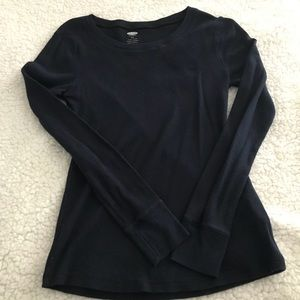 Old navy blue thermal